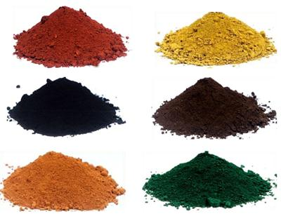 Iron Oxide Pigments(Red/Yellow/Black/Brown/Orange/Green)