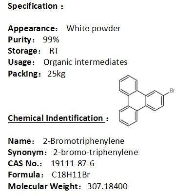 In stock 2-Bromotriphenylene 19111-87-6