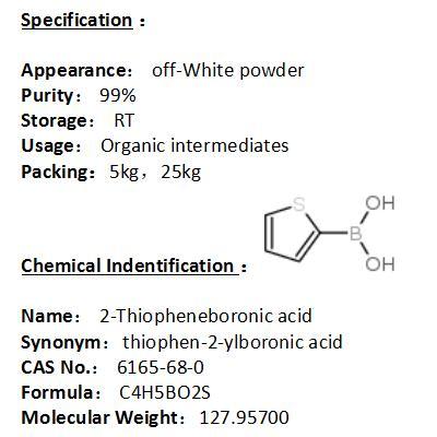In stock 2-Thiopheneboronic acid 6165-68-0