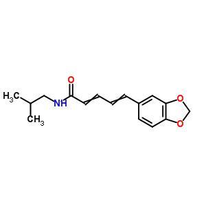 5-(1,3-benzodioxol-5-yl)-N-(2-methylpropyl)penta-2,4-dienamide