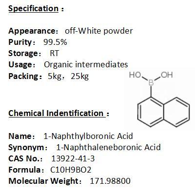 In stock 1-Naphthylboronic Acid 13922-41-3