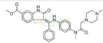 CAS:656247-17-5 C31H33N5O4 Intedanib