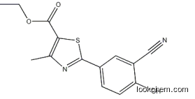 supply 2-(3-Cyano-4-hydroxyphenyl)-4-methyl-1,3-thiazole-5-carboxylicacid ethyl ester;