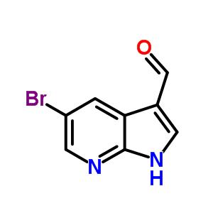 5-bromo-1H-pyrrolo[5,4-b]pyridine-3-carbaldehyde