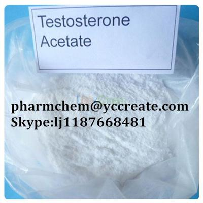 99% Steroid Hormone Testosterone Acetate(1045-69-8)
