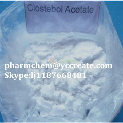 Body Fitness Steroid  Clostebol Acetate  For Strength Increase(855-19-6)
