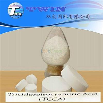 Trichloroisocyanuric acid used as water treatment TCCA 90%(87-90-1)