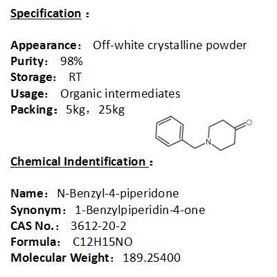 In stock N-Benzyl-4-piperidone 3612-20-2