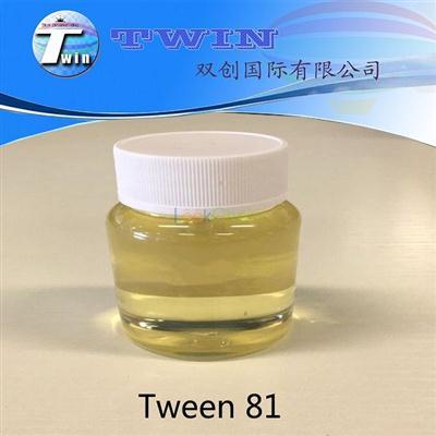 Tween 81 polyoxyethylene (5) sorbitan monooleate