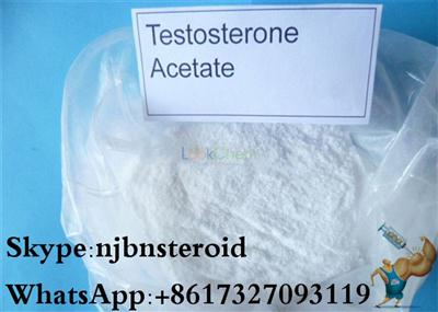 Anabolic Steroid Powders Testosterone Acetate Test Ace(1045-69-8)