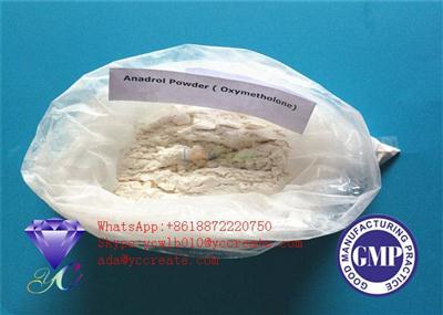 Raw Steroid Powders 99.5% Purity Oxymetholone Anadrol Steroids CAS No 434-07-1
