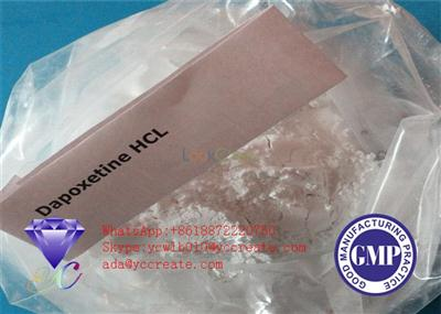 High Purity Anabolic Androgenic Steroids Dapoxetine Hydrochloride 129938-20-1