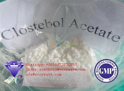 Top Quality Steroid Powder Clostebol Acetate CAS 855-19-6