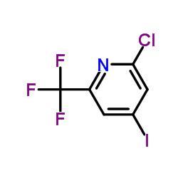 2-Chloro-4-iodo-6-(trifluoromethyl)pyridine
