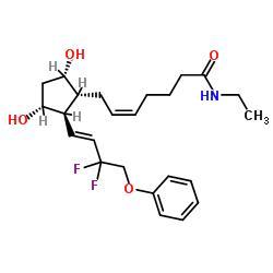 Dechloro dihydroxy difluoro ethylcloprostenolamide