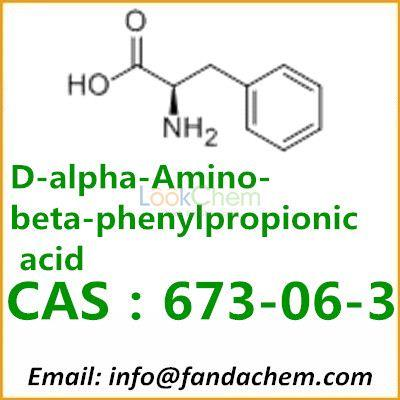 D-Phenylalanine factory, cas:673-06-3 from Fandachem