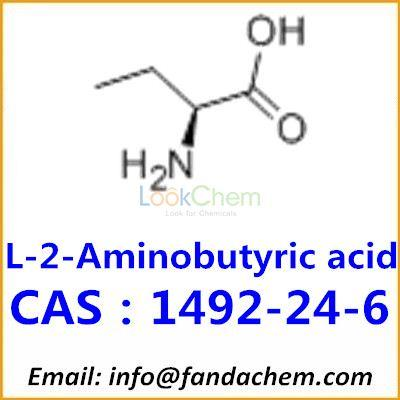 Manufacturer supply L-(+)-2-AMINOBUTYRIC ACID, CAS:1492-24-6 from Fandachem