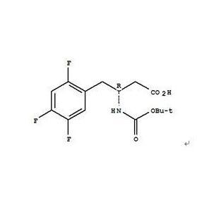 Tert-Butoxycarbonyl-(R)-3-amino-4-(2,4,5-trifluorophenyl)-butanoic acid