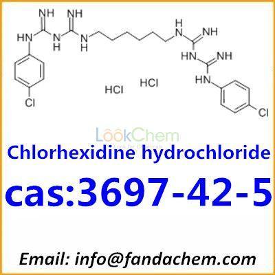 Chlorhexidiniumdichloride,cas:3697-42-5 from Fandachem
