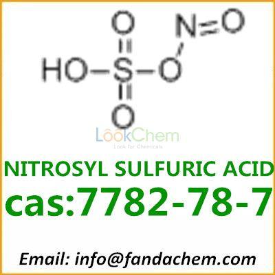 High quality of NITROSYL SULFURIC ACID, cas:7782-78-7 from Fandachem