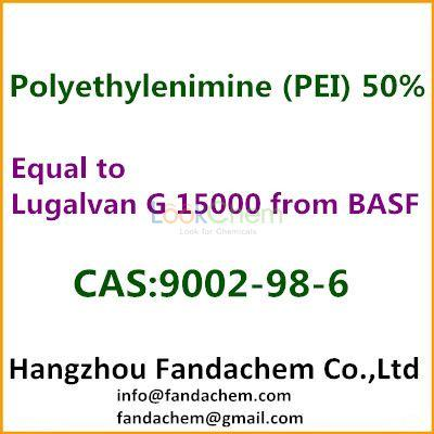 Equal to Lugalvan G 15000 from BASF, Polyethyleneimine 50%, cas  9002-98-6 from Fandachem