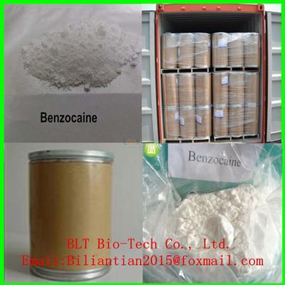 Assay 99.9% Benzocaine Local Anesthetic Powder Benzocaine 94-09-7