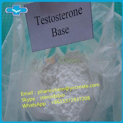 99% Purity Bodybuilding Steroid Powder Testosterone(58-22-0)