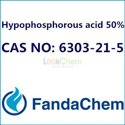 Hypophosphorous acid 50%, CAS NO: 6303-21-5 from Fandachem