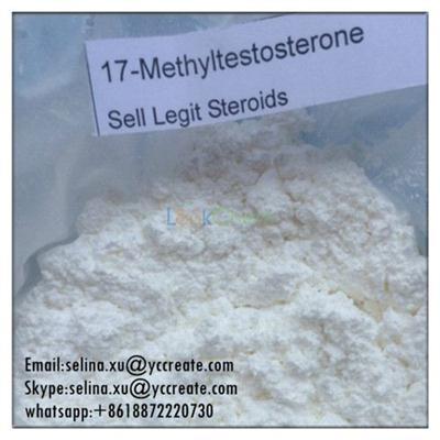 Top Quality Hormone Powder 17-Methyltestosterone / 17A-Methyl-1-Testosterone