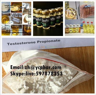 Testosterone Propionate Test Prop raw powder  Muscle Steroid