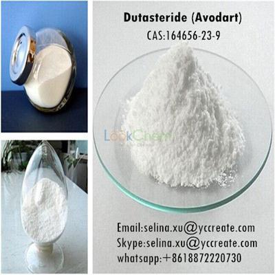 Prevent Hair Loss Supplementary Steroid Powder Dutasteride (Avodart) CAS: 164656-23-9