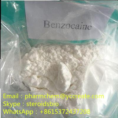 Local Anesthetic Relieve Pain CAS 94-09-7 Benzocaine