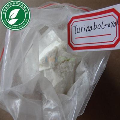 Oral Turinabol Anabolic Steroid Powder 4-Chlorodehydromethyltestosterone For Bodybuilding