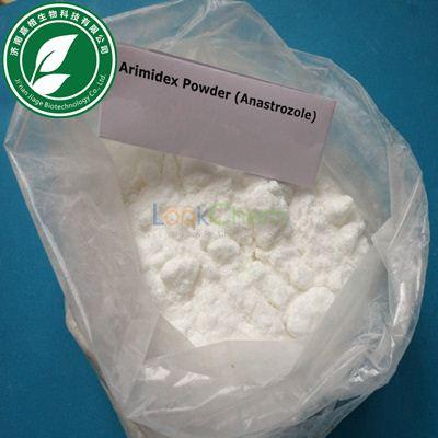 99% Purity Anti estrogen steroid Anastrozole Arimidex for anti cancer