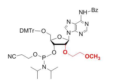 2'-O-MOE-A(Bz)-3'-phosphoramidite