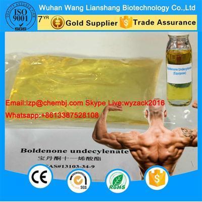 Hot Sale Yellow Liquid Steroid Boldenone Undecylenate CAS 13103-34-9 Equipoise  Z