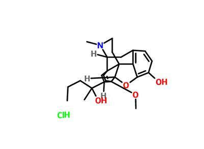 Etorphine   C25H33NO4 - PubChem