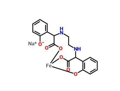 Ferrate(1-), [[a,a'-[1,2-ethanediyldi(imino-kN)]bis[2-(hydroxy-kO)benzeneacetato-kO]](4-)]-, sodium (1:1)
