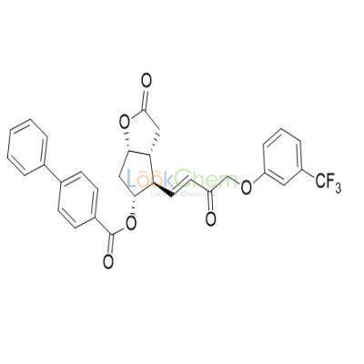 [1,1'-Biphenyl]-4-carboxylic acid (3aR,4R,5R,6aS)-hexahydro-2-oxo-4-[(1E)-3-oxo-4-[3-(trifluoromethyl)phenoxy]-1-buten-1-yl]-2H-cyclopenta[b]furan-5-yl ester(54142-64-2)