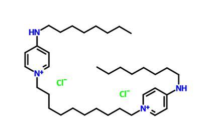 1-Octanamine,N,N'-(1,10-decanediyldi-1(4H)-pyridinyl-4-ylidene)bis-, hydrochloride (1:2)