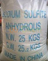 Sodium Sulfite Anhydrous