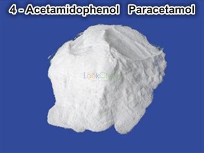 Pain Reliever and Fever Reducer Raw Powders 4-Acetamidophenol 103-90-2 Paracetamol