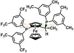 (R)-(-)-1-{(S)-2-[Bis(3,5-di-trifluoromethylphenyl)phosphino]ferrocenyl}ethyldi-3,5-xylylphosphine(166172-63-0)
