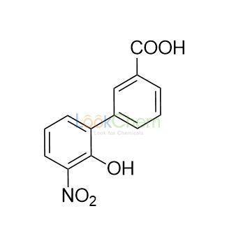 2'-Hydroxy-3'-nitro-[1,1'-biphenyl]-3-carboxylic acid(376591-95-6)