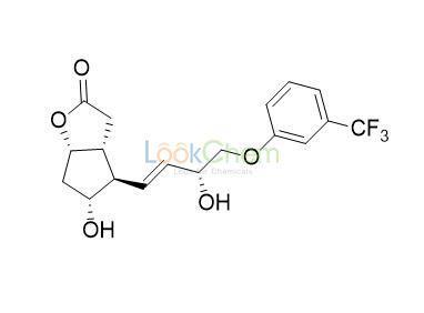 (3aR,4R,5R,6aS)-5-hydroxy-4-[(3R)-3-hydroxy-4-[3-(trifluoromethyl)phenoxy]but-1-enyl]-3,3a,4,5,6,6a-hexahydrocyclopenta[b]furan-2-one(53872-60-9)