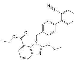Ethyl-2-Ethoxy-1-[[(2'-Cyanobiphenyl-4-yl) Methyl] Benzimidazole]-7-Carboxylate