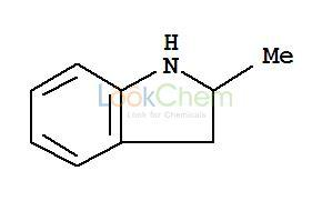 High quality 2-Methylindoline supplier in China CAS NO.6872-06-6