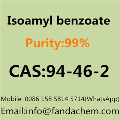 Isoamyl benzoate 99%, CAS:94-46-2 from Fandachem