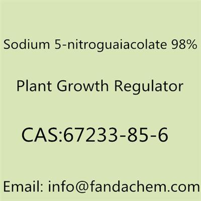 Sodium 5-nitroguaiacolate 98%, CAS NO:67233-85-6
