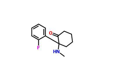 2-(2-fluorophenyl)-2-(methylamino)cyclohexan-1-one